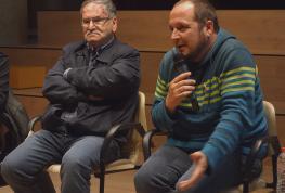 David Fernàndez y Joan Guerrero debaten, invitados por la ACO, sobre la post-verdad