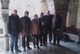 El Comité Permanente visita al cardenal arzobispo Omella